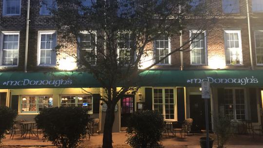 #1 Ghost Tour - McDonough's Pub