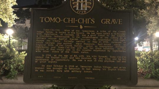 #1 Ghost Tour Tomochichi